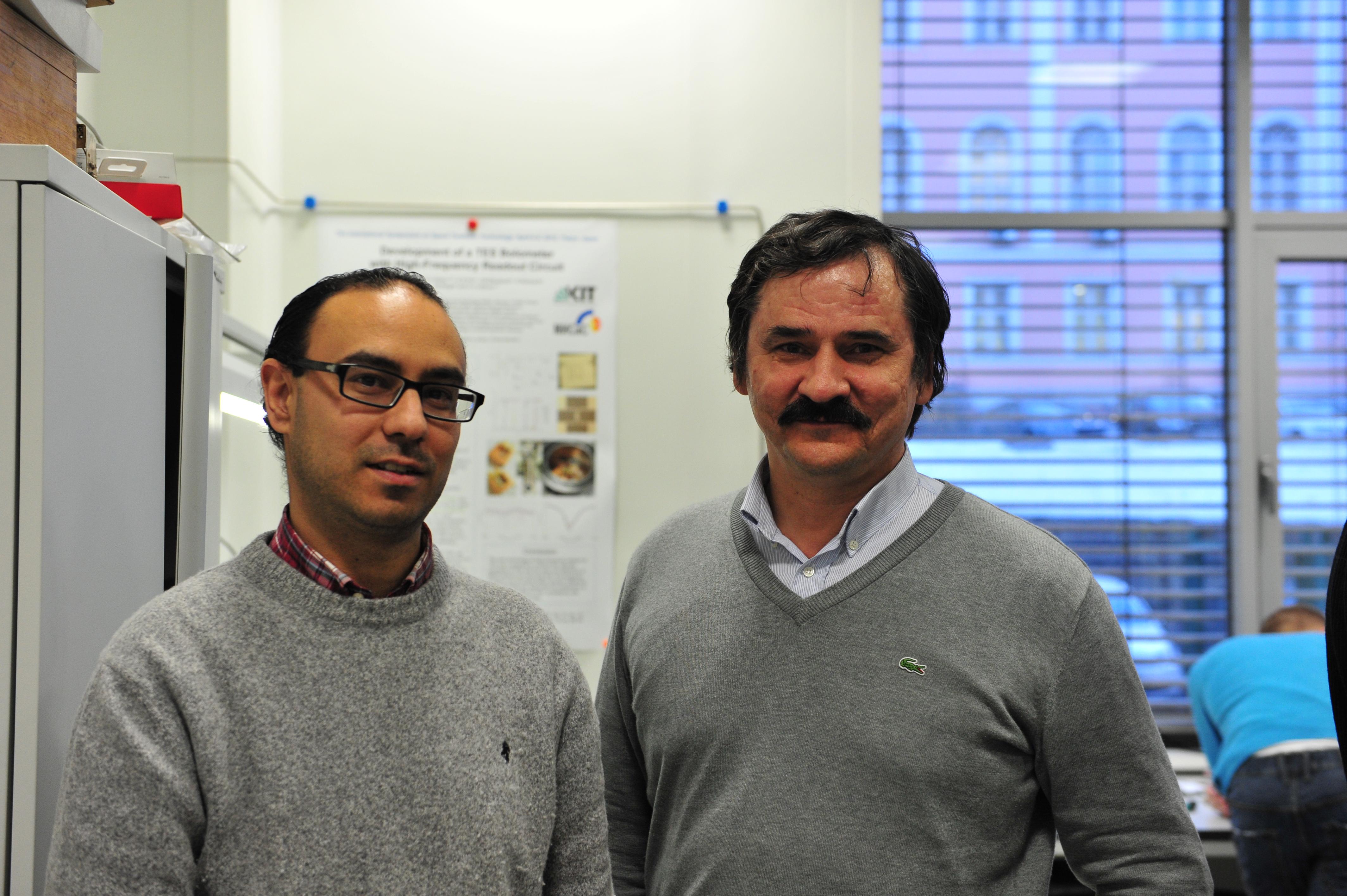 С научным руководителем профессором Валерием Рязановым. Ноябрь 2015 г