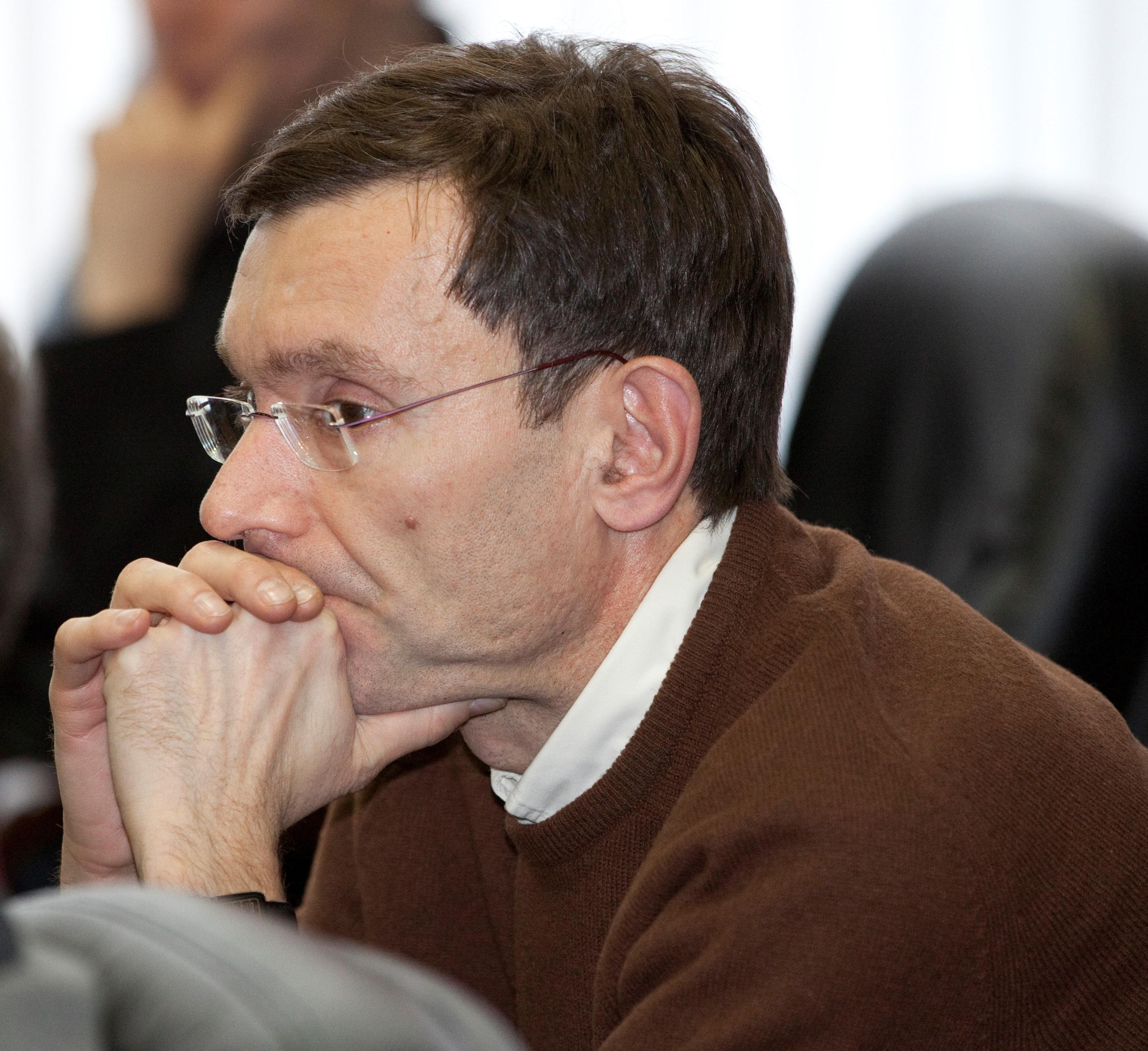 На лекции Алексея Устинова в Черноголовке